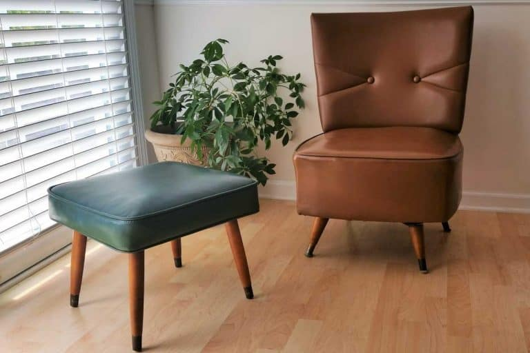Faux leather seats in a modern home, How To Clean Faux Leather Furniture