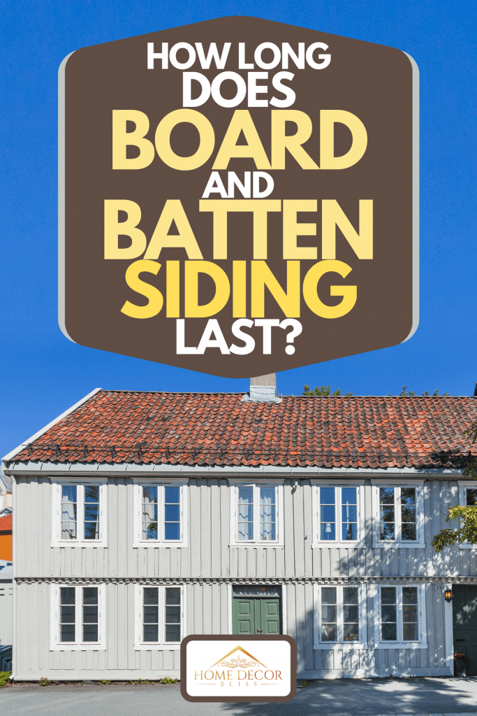A Scandinavian style apartment building with board and batten siding, How Long Does Board And Batten Siding Last?