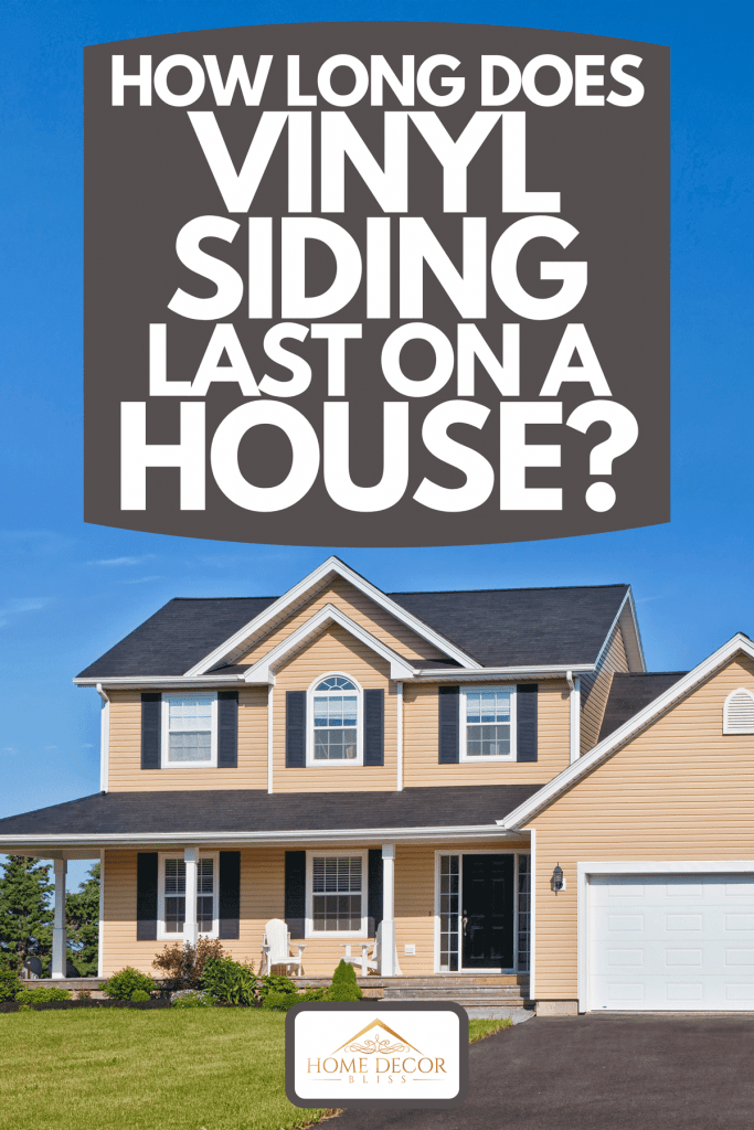 A large family home in a rural area with garden, How Long Does Vinyl Siding Last On A House?