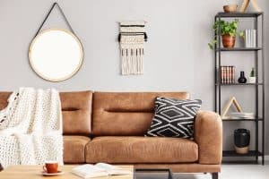 How To Lighten Up A Room That Has Dark Leather Furniture