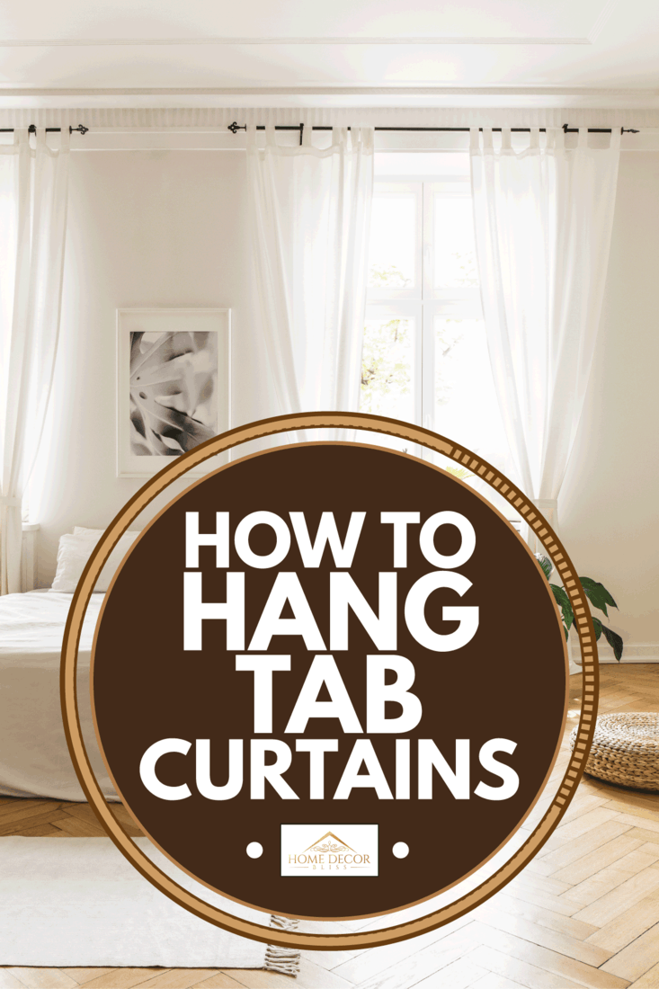 How To Hang Tab Curtains