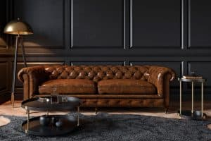 What Coffee Table Goes With Brown Leather Couch