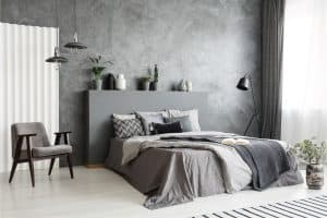 23 Fantastic Gray and White Bedroom Ideas