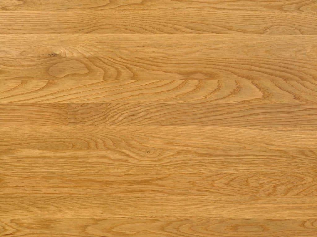 Natural stained white oak floor