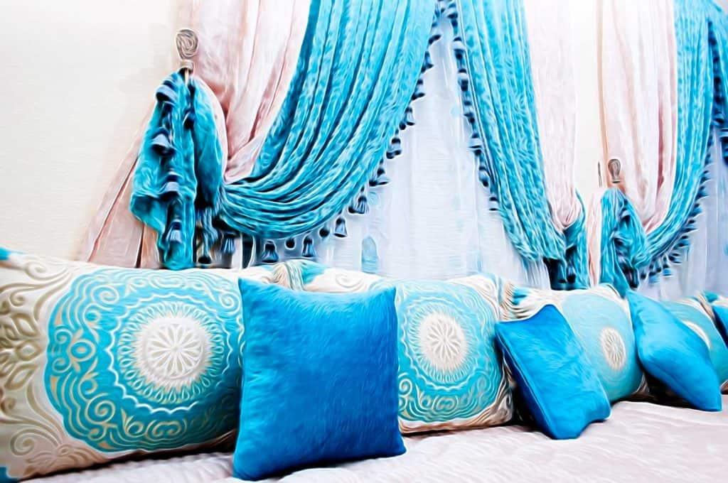 Oriental Arabic living room