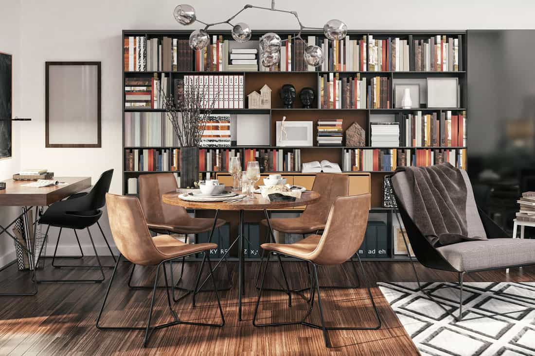 Picture of functional, small apartment interior design
