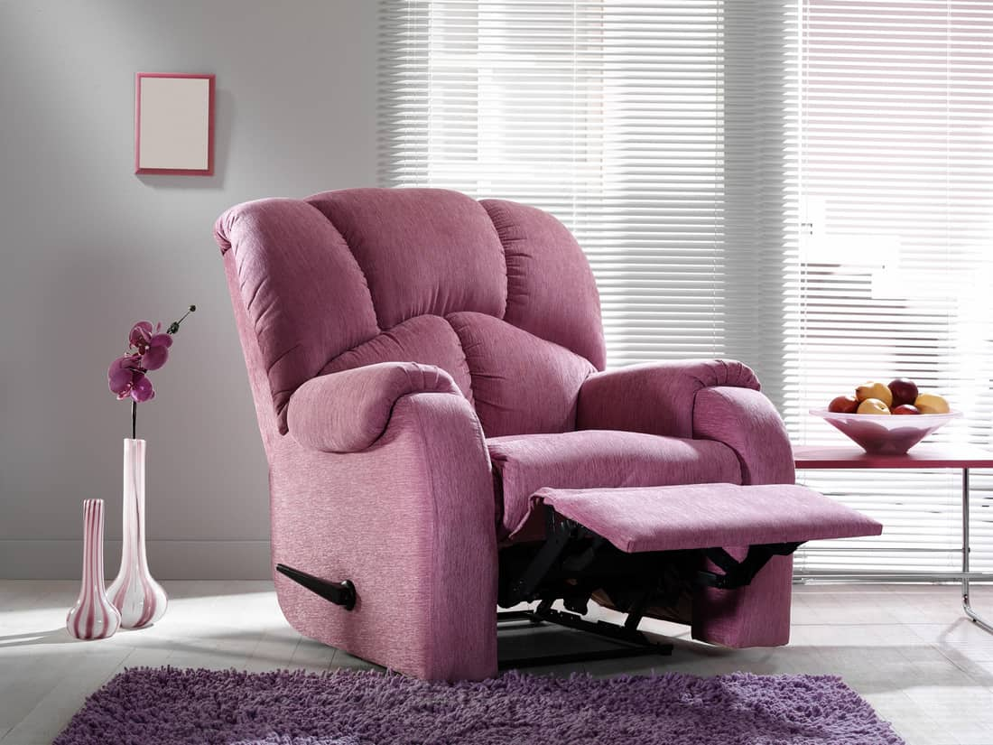 Recliner chair in the living room