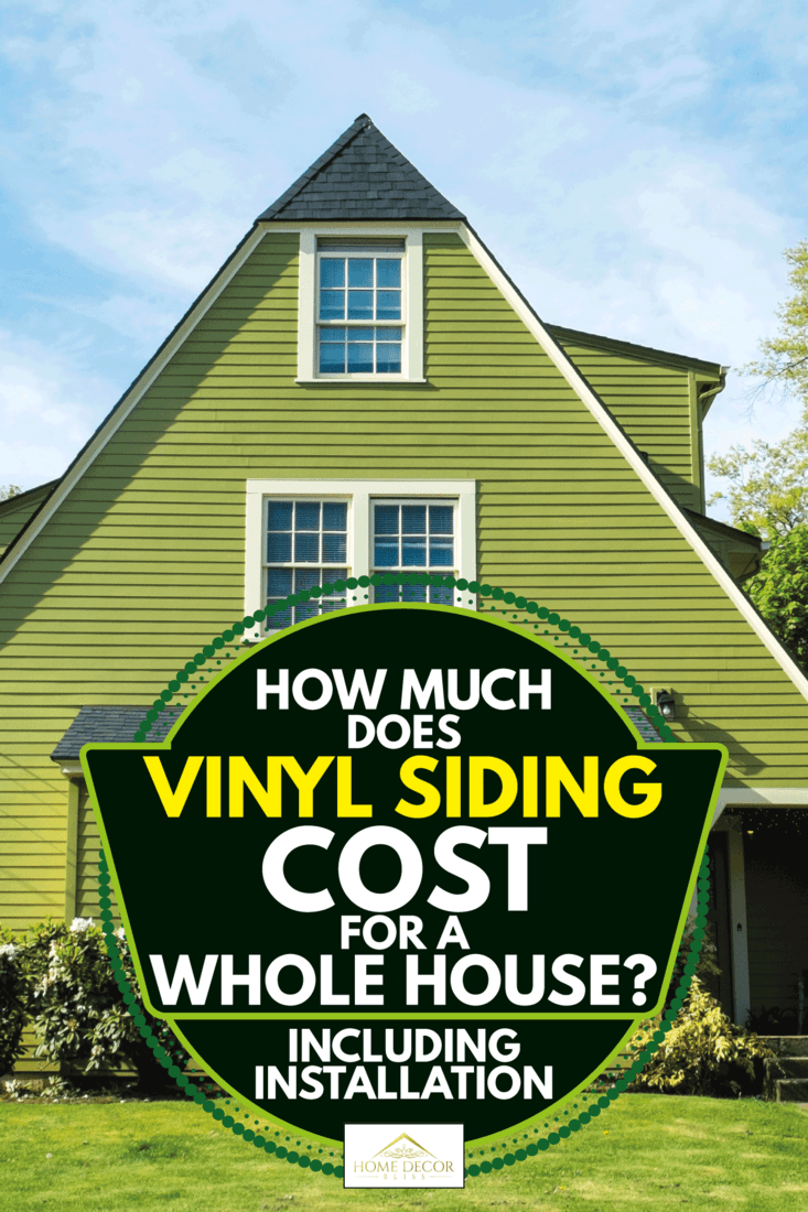 Single-family American craftsman house with blue sky background, How Much Does Vinyl Siding Cost For A Whole House? [Including Installation]