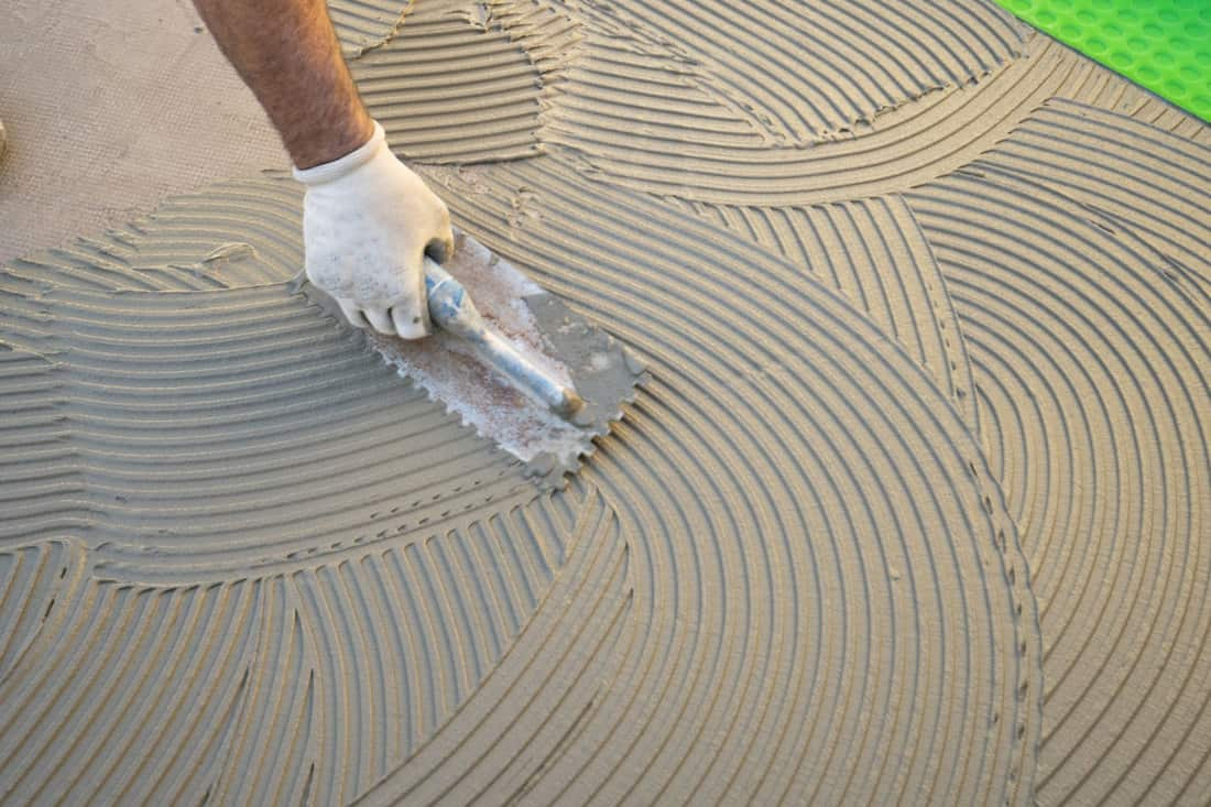 best tile adhesive for concrete floor