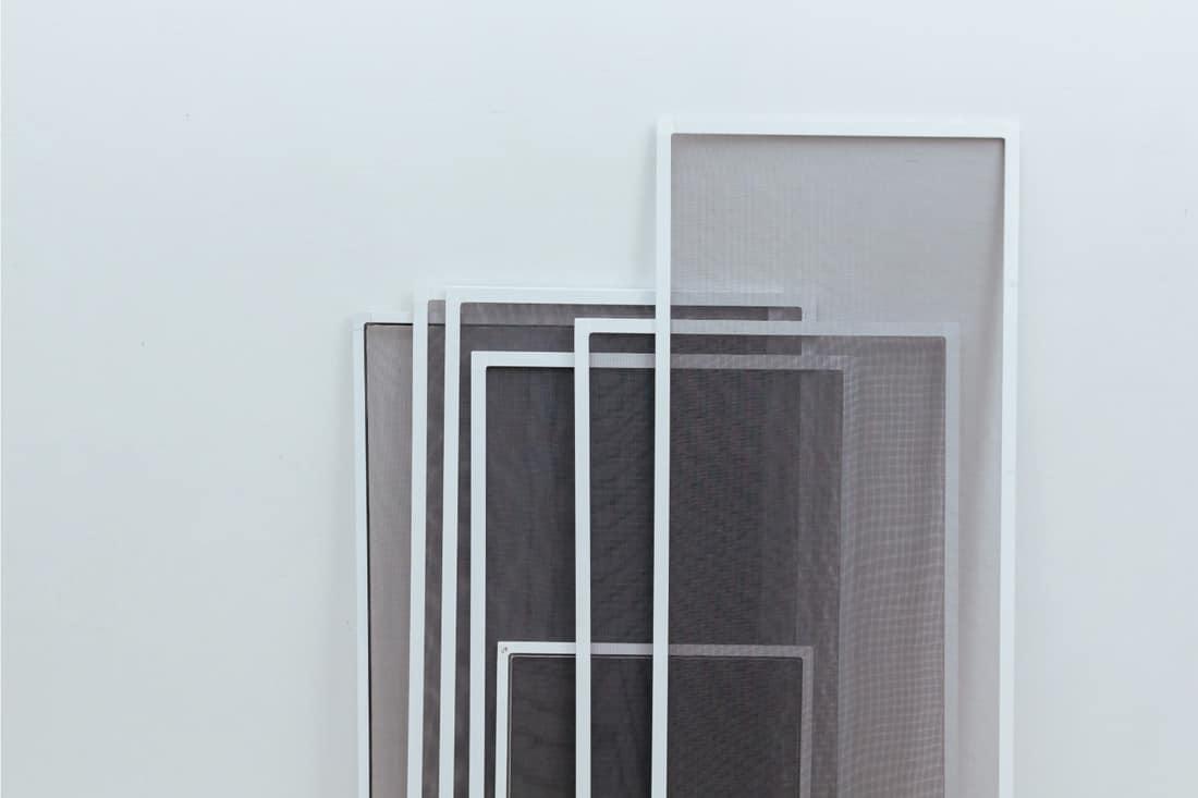 UPVC mosquito nets, screen doors for installation