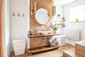 11 Types Of Bathroom Wall Coverings
