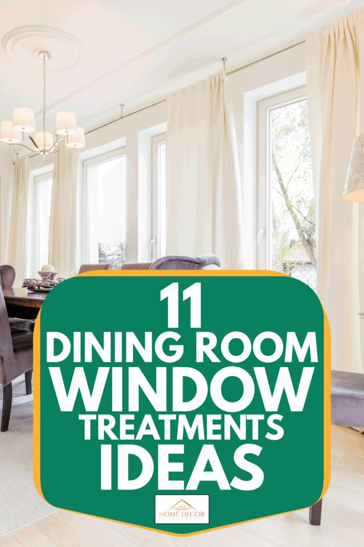11 Dining Room Window Treatments Ideas, Dining Room Window Treatments