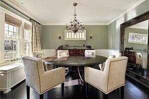 11 Dining Room Window Treatments Ideas
