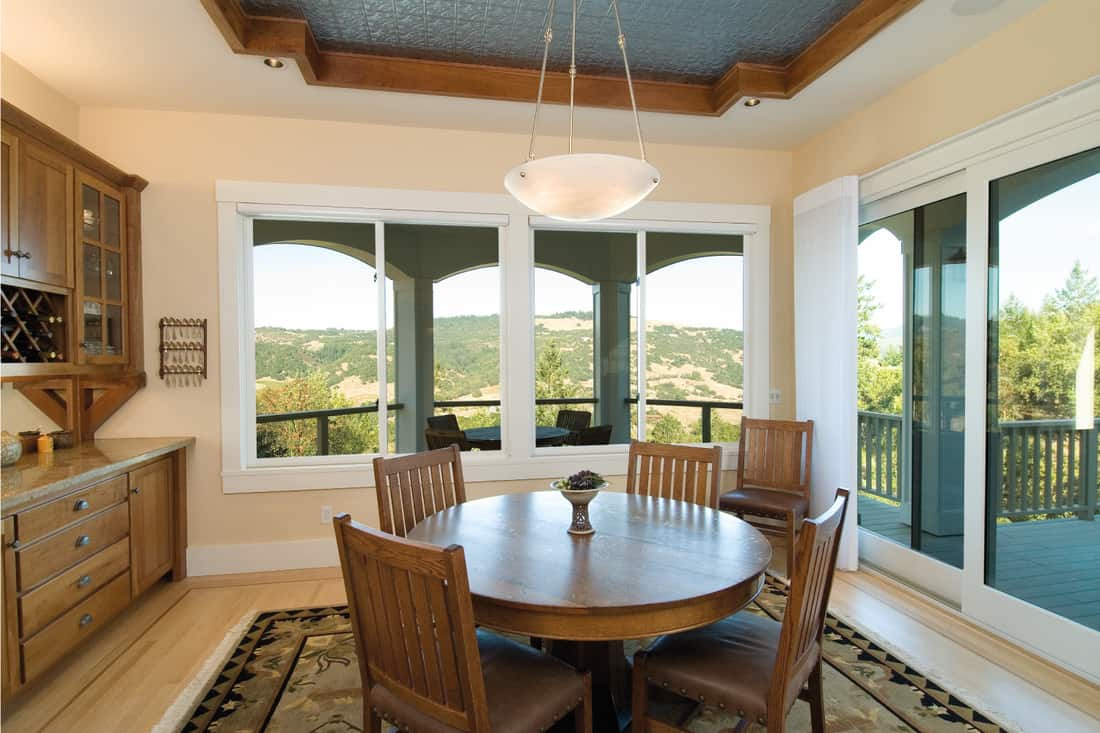 Dining table in classic Tuscany design