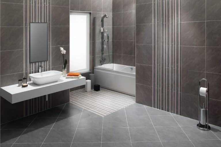 Domestic bathroom with matching walls and flooring, 4 Best Flooring Types For Bathroom