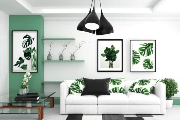 15 Gray And Green Living Room Ideas