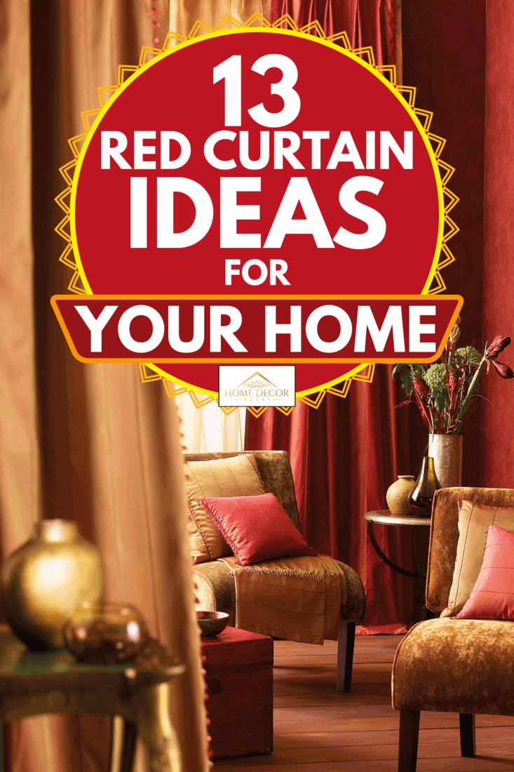 13 Red Curtain Ideas For Your Home Home Decor Bliss