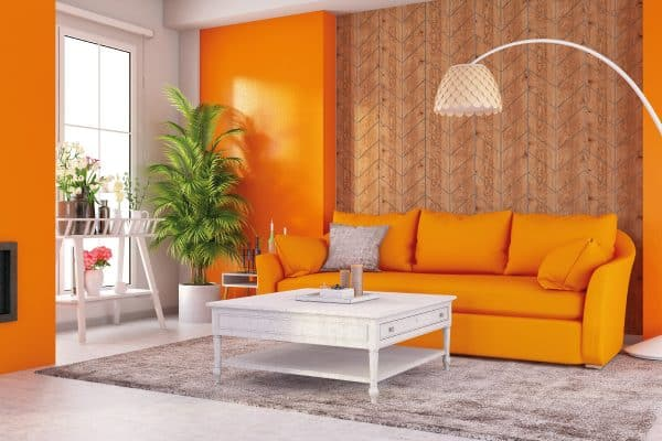 What Goes with an Orange Couch? [5 Styling Options Explored]