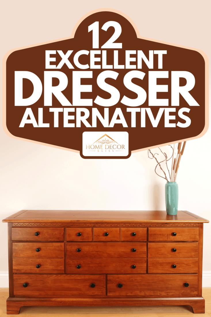 A bedroom wooden dresser drawer, 12 Excellent Dresser Alternatives