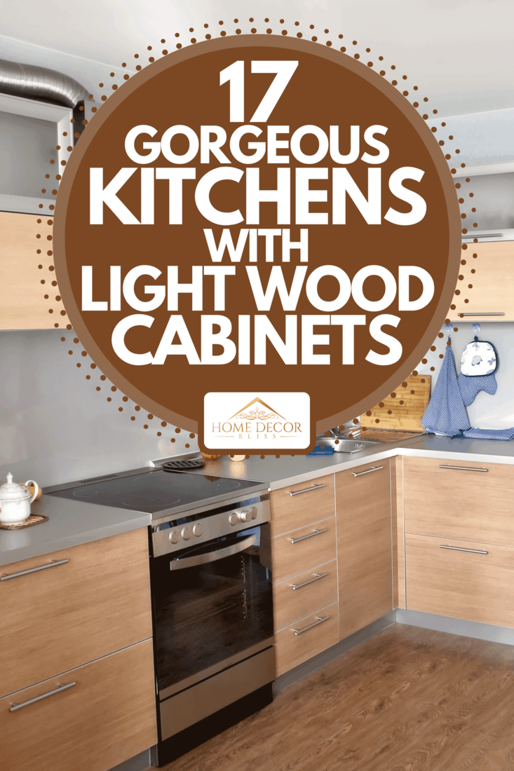 9 Gorgeous Kitchens With Light Wood Cabinets   Home Decor Bliss