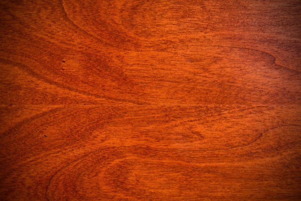 A detailed photo of Natural Cherry Hardwood grain