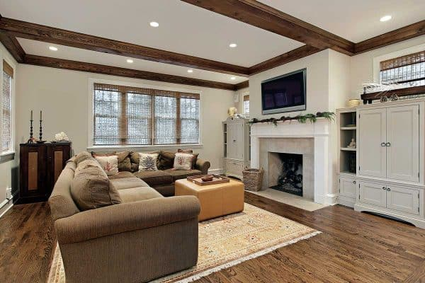 Should Ceiling Beams Match The Floor?