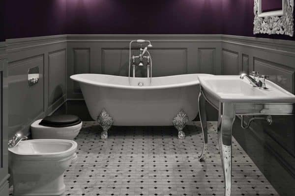 Read more about the article 15 Incredible Purple Bathroom Ideas