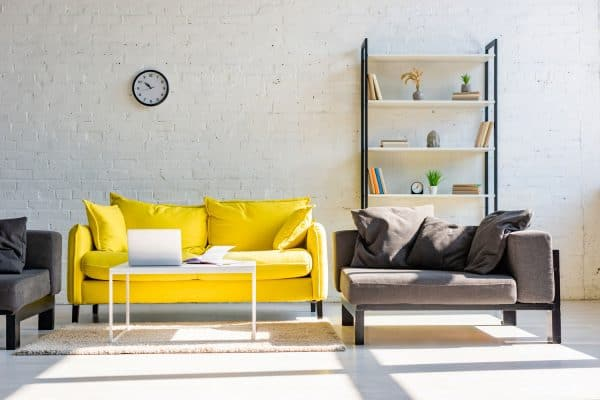 13 Grey And Mustard Yellow Living Room Ideas