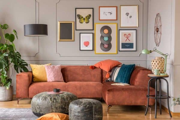 11 Eye-Catching Living Room Wall Decor Ideas