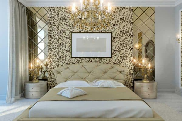 Read more about the article 15 Gorgeous White And Gold Bedroom Ideas