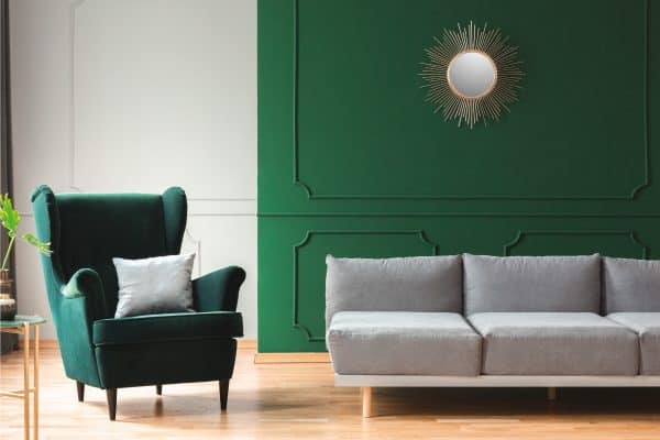 23 Eye-Catching Green Living Room Ideas