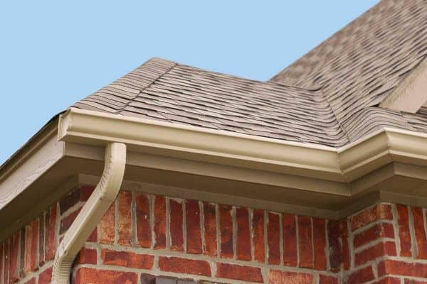 What Color Gutters For Brick House?