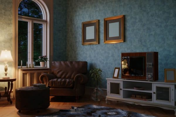 11 Fun Wallpaper Ideas For Living Room Feature Wall
