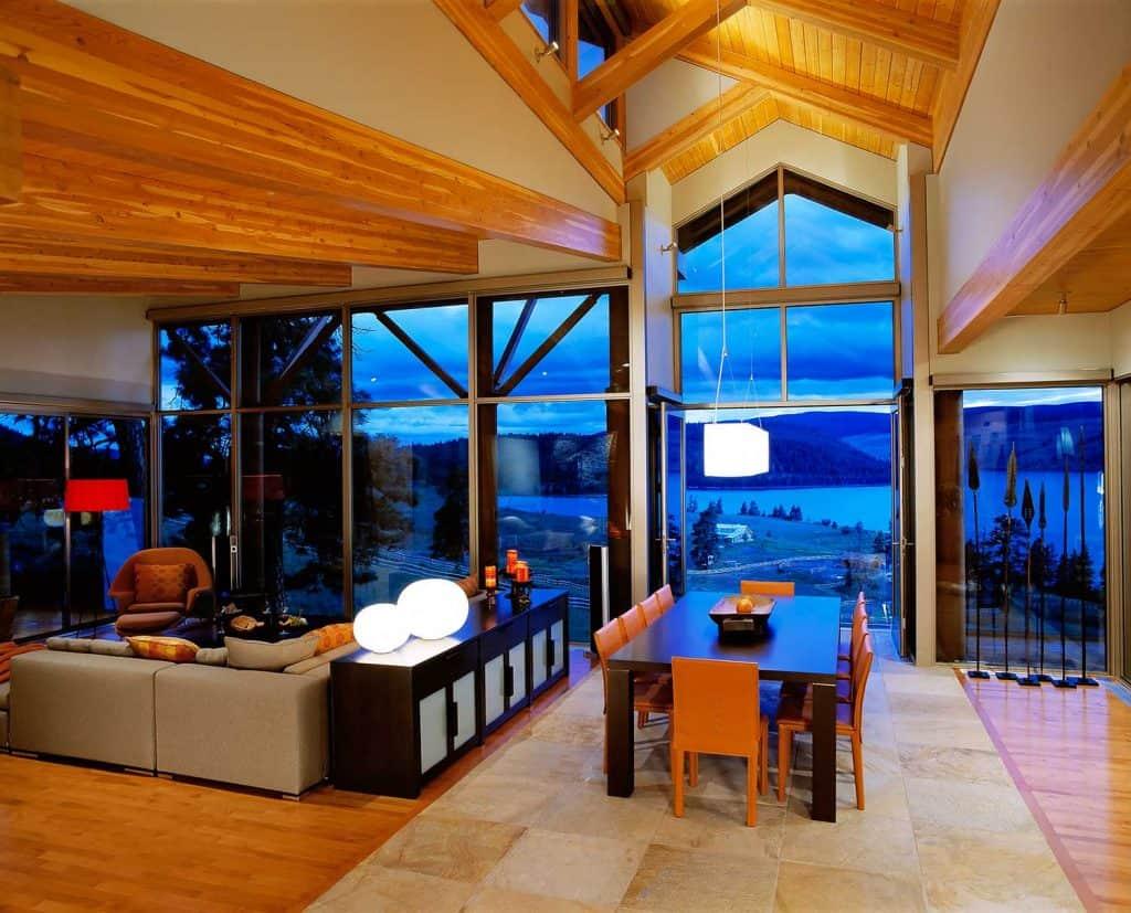 Luxury property home interior