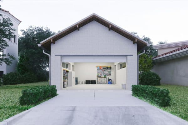 Should A Garage Door Open In Or Out?