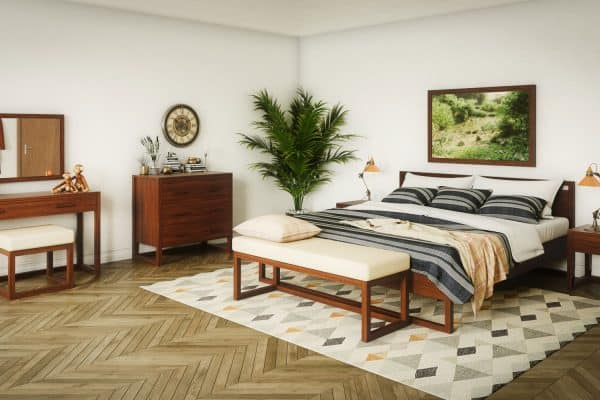 What Color Bedding Goes With Oak Furniture? [6 Options Explored]