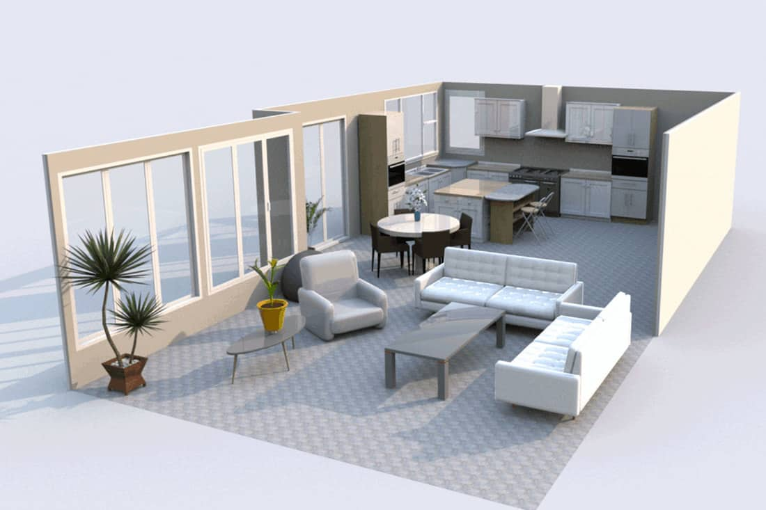 20 Open Plan Kitchen Living Room Layout Ideas   Home Decor Bliss