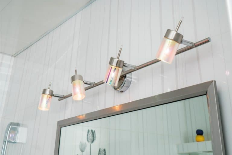 light fixtures in the bathroom above a mirror. Where To Place Light Fixtures In Bathroom