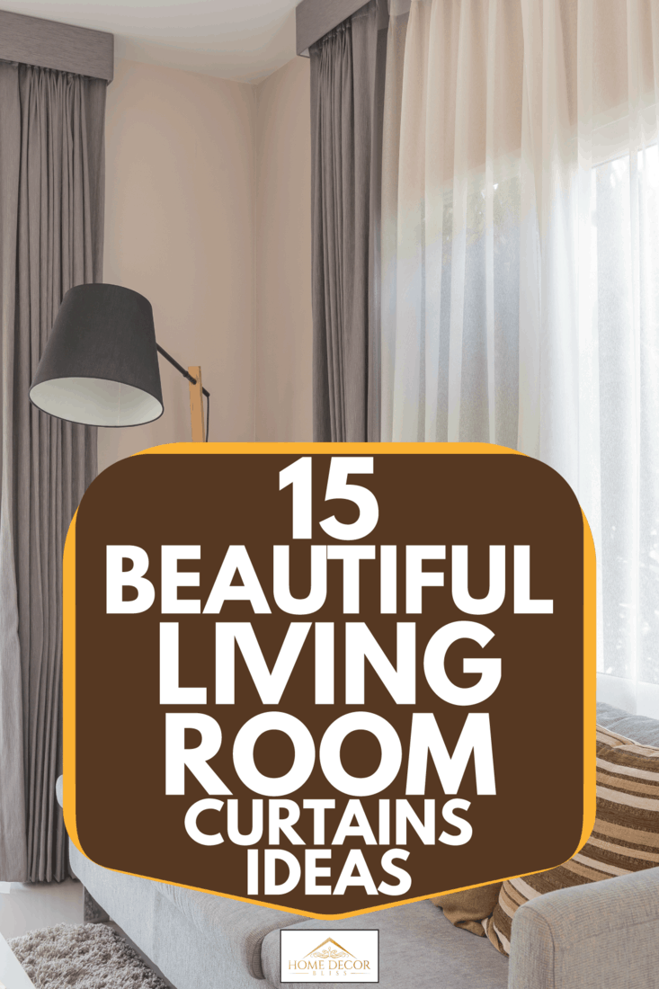 20 Fantastic Living Room Curtains Ideas for 20   Home Decor Bliss
