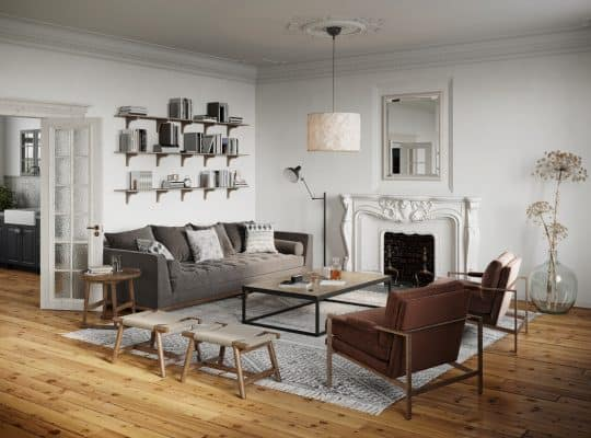 Read more about the article Should Furniture Be On The Rug? [A Complete Guide]