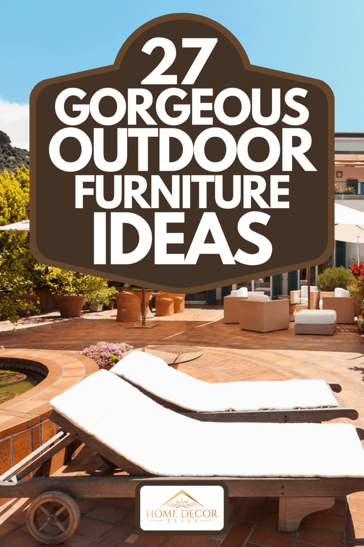 Beautiful terrace with view of the sea, 27 Gorgeous Outdoor Furniture Ideas