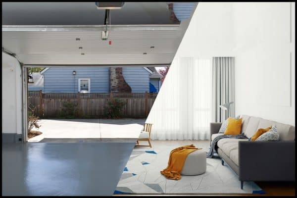 Read more about the article Can You Convert A Garage Into A Living Room? [Top Factors To Consider!]