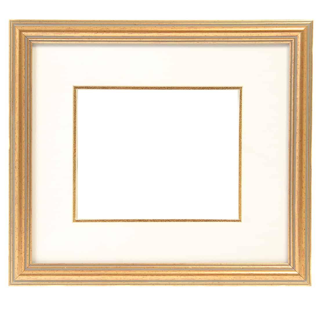 Baget frame isolated on white