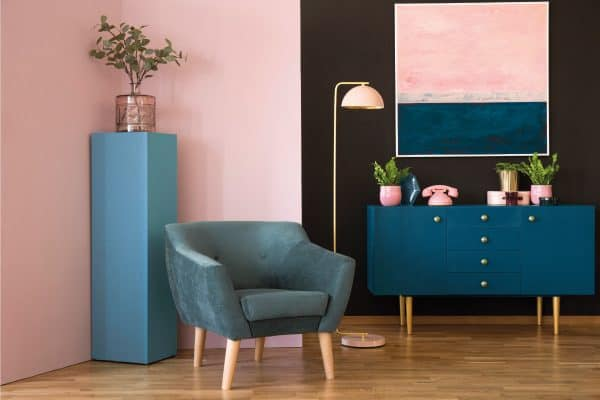 11 Blue And Pink Living Room Ideas You Need To See