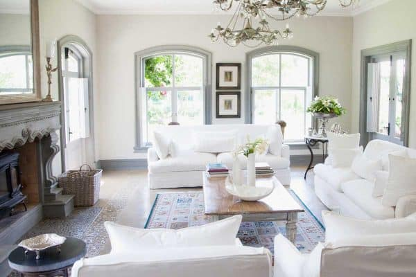 15 Hamptons Style Living Room Ideas