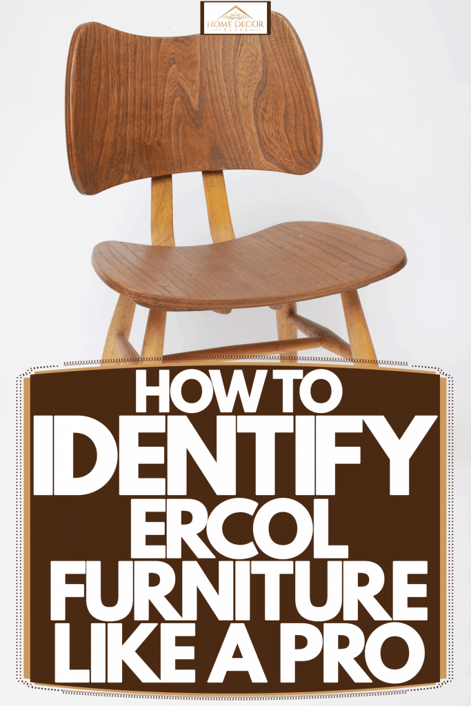 A small Ercol furniture on a white background, How To Identify Ercol Furniture Like A Pro