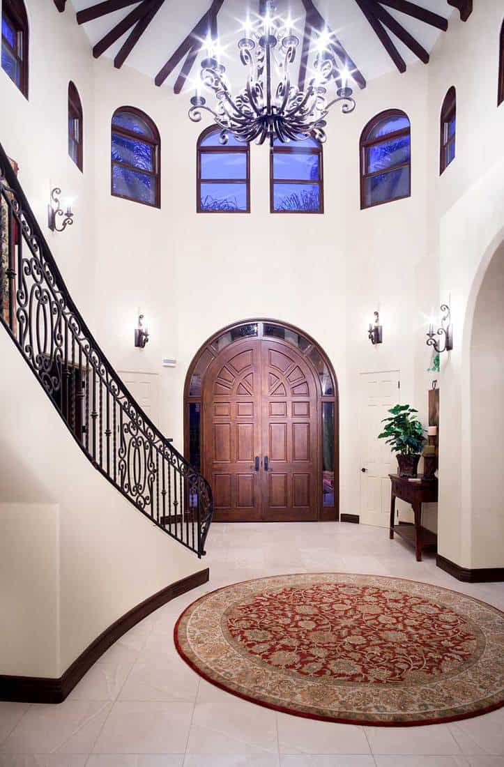 Interior of expensive formal home