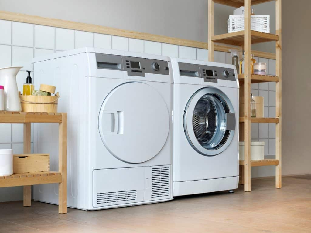 Laundry room tiles with simple upgrades