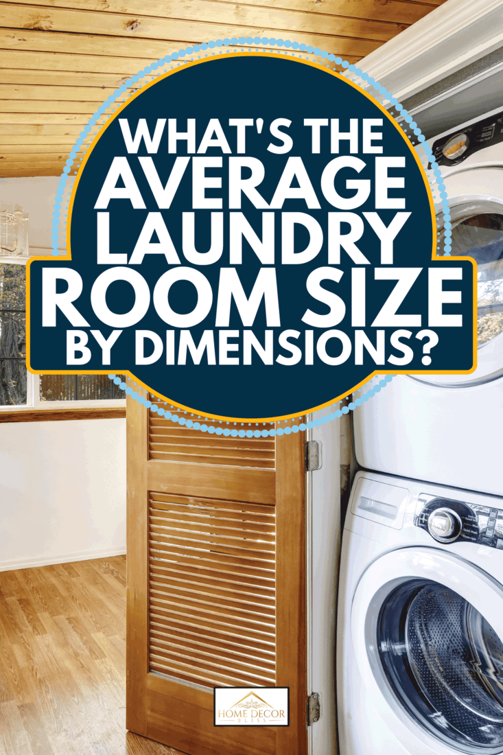 Laundry room with view to fenced back yard. What's The Average Laundry Room Size By Dimensions