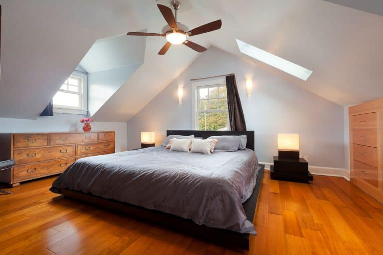 Master bedroom in large attic space, 5 Types Of Attics You Should Know